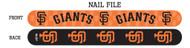 San Francisco Giants Nail File