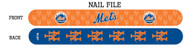 New York Mets Nail File