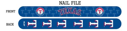 Texas Rangers Nail File