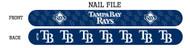Tampa Bay Rays Nail File