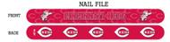 Cincinnati Reds Nail File