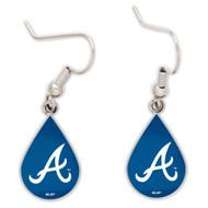 Atlanta Braves Tear Drop Earrings