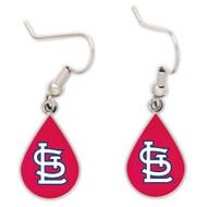 St. Louis Cardinals Tear Drop Earrings