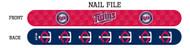 Minnesota Twins Nail File