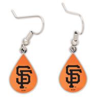 San Francisco Giants Tear Drop Earrings