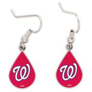 Washington Nationals Tear Drop Earrings