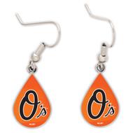 Baltimore Orioles Tear Drop Earrings