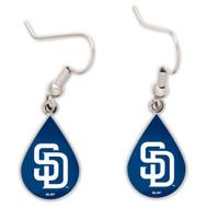 San Diego Padres Tear Drop Earrings