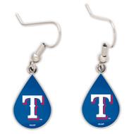 Texas Rangers Tear Drop Earrings