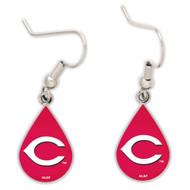 Cincinnati Reds Tear Drop Earrings