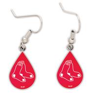 Boston Red Sox Tear Drop Earrings