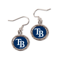 Tampa Bay Rays Round Earrings