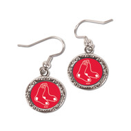 Boston Red Sox Round Earrings
