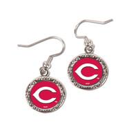 Cincinnati Reds Round Earrings