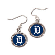 Detroit Tigers Round Earrings