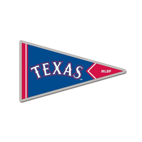 Texas Rangers Pennant Cloisonne Pin