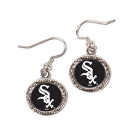Chicago White Sox Round Earrings