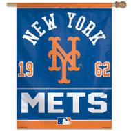 "New York Mets Flag 27"" x 37"""