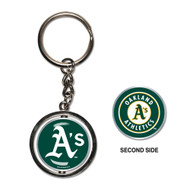 Oakland Athletics Spinner Keychain (WC)