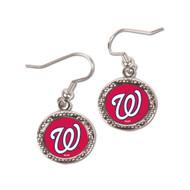 Washington Nationals Round Earrings