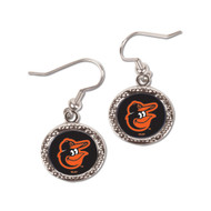 Baltimore Orioles Round Earrings