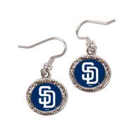 San Diego Padres Round Earrings
