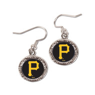 Pittsburgh Pirates Round Earrings