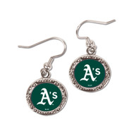Oakland Athletics Round Earrings