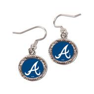 Atlanta Braves Round Earrings