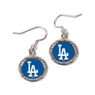 Los Angeles Dodgers Round Earrings