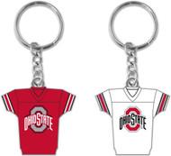 Ohio State University 2-Sided Jersey Keychain