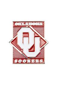 University of Oklahoma Diamond Pin