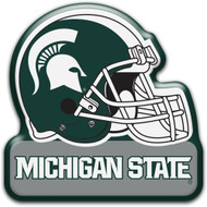 Michigan State Helmet Magnet