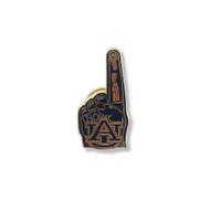 Auburn University #1 Pin