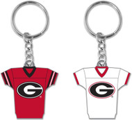 University of Georgia 2-Sided Jersey Keychain