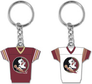 Florida State University 2-Sided Jersey Keychain