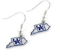 University of Kentucky Earrings - State Design