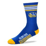 Golden State Warriors Large '4 Stripe' Deuce Socks