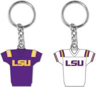 Louisiana State LSU 2-Sided Jersey Keychain