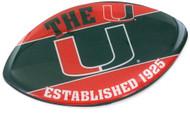 University of Miami Football Magnet