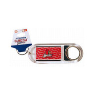 Louisville Lucite Bottle Opener Keychain