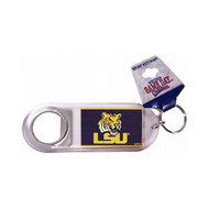Louisiana State LSU Lucite Bottle Opener Keychain