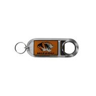 University of Missouri Lucite Bottle Opener Keychain