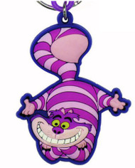 Cheshire Cat Soft Touch PVC Keychain