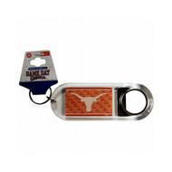 University Of Texas Lucite Bottle Opener Keychain