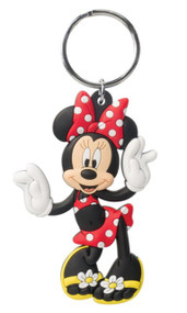 Minnie Mouse Soft Touch PVC Keychain - 85164