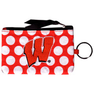 University Of Wisconsin Coin Purse Keychain