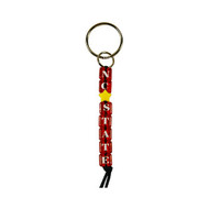 North Carolina State Bead Keychain