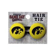 University of Iowa Ponytail Holder Hair Tie