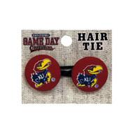 University Of Kansas Ponytail Holder Hair Tie